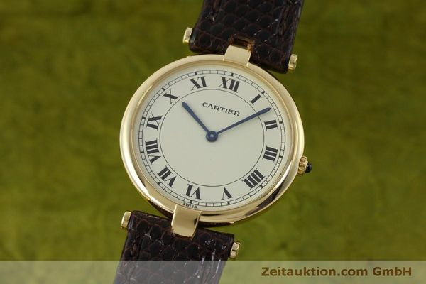 Used luxury watch Cartier * 18 ct gold quartz Kal. 81  | 151665 04