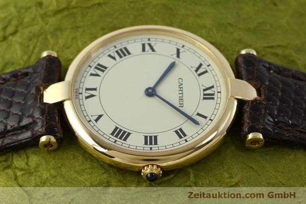 Used luxury watch Cartier * 18 ct gold quartz Kal. 81  | 151665 05