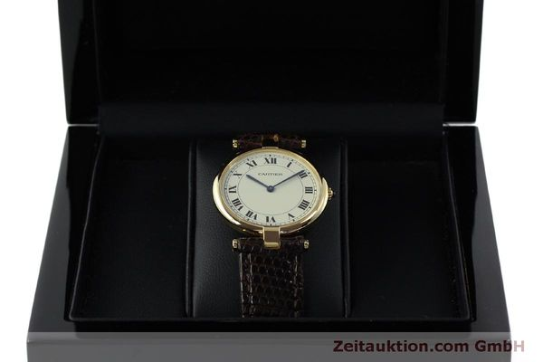 Used luxury watch Cartier * 18 ct gold quartz Kal. 81  | 151665 07