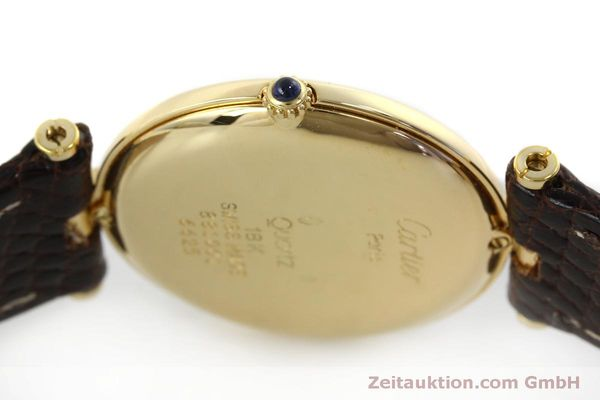 Used luxury watch Cartier * 18 ct gold quartz Kal. 81  | 151665 08