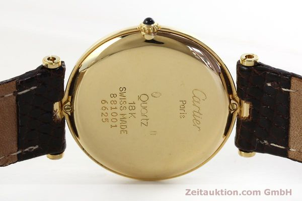 Used luxury watch Cartier * 18 ct gold quartz Kal. 81  | 151665 09