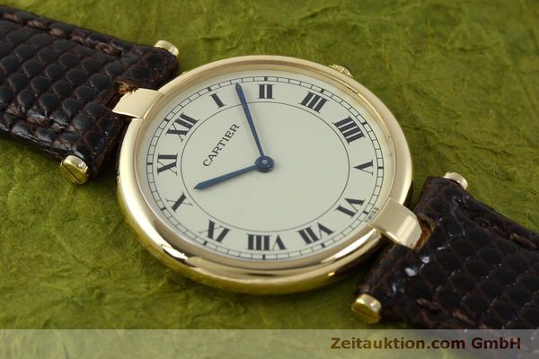 Used luxury watch Cartier * 18 ct gold quartz Kal. 81  | 151665 12