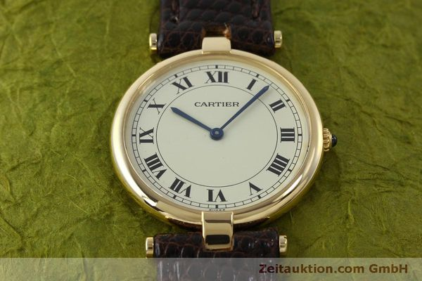 Used luxury watch Cartier * 18 ct gold quartz Kal. 81  | 151665 13