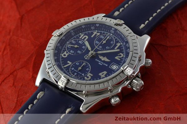 Used luxury watch Breitling Chronomat chronograph steel automatic Kal. B13 ETA 7750 Ref. A13050.1  | 151666 01
