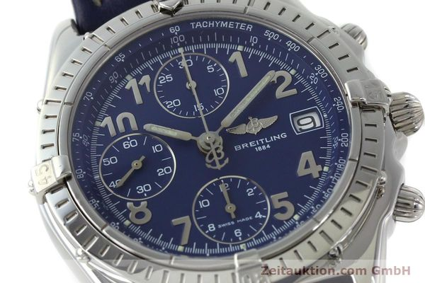 Used luxury watch Breitling Chronomat chronograph steel automatic Kal. B13 ETA 7750 Ref. A13050.1  | 151666 02