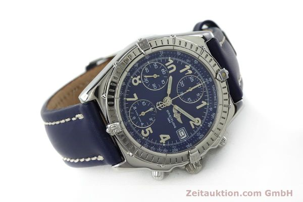 Used luxury watch Breitling Chronomat chronograph steel automatic Kal. B13 ETA 7750 Ref. A13050.1  | 151666 03
