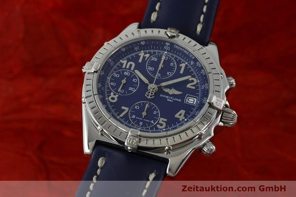 Used luxury watch Breitling Chronomat chronograph steel automatic Kal. B13 ETA 7750 Ref. A13050.1  | 151666 04