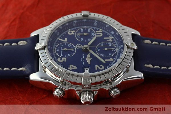Used luxury watch Breitling Chronomat chronograph steel automatic Kal. B13 ETA 7750 Ref. A13050.1  | 151666 05