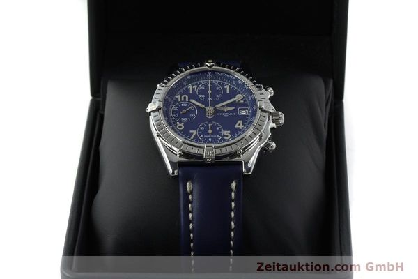 Used luxury watch Breitling Chronomat chronograph steel automatic Kal. B13 ETA 7750 Ref. A13050.1  | 151666 07