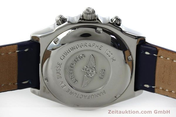 Used luxury watch Breitling Chronomat chronograph steel automatic Kal. B13 ETA 7750 Ref. A13050.1  | 151666 09
