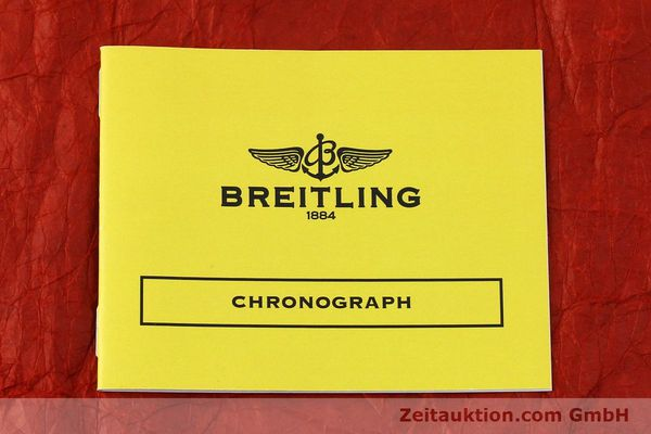 Used luxury watch Breitling Chronomat chronograph steel automatic Kal. B13 ETA 7750 Ref. A13050.1  | 151666 11