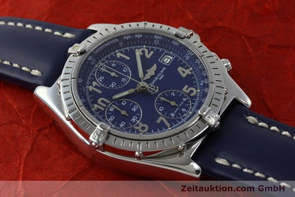 Used luxury watch Breitling Chronomat chronograph steel automatic Kal. B13 ETA 7750 Ref. A13050.1  | 151666 14