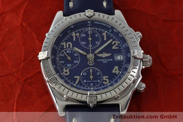 Used luxury watch Breitling Chronomat chronograph steel automatic Kal. B13 ETA 7750 Ref. A13050.1  | 151666 15