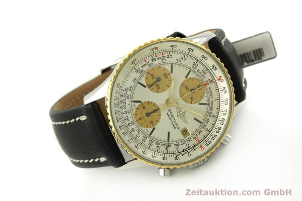 Used luxury watch Breitling Navitimer chronograph steel / gold automatic Kal. Valj.  7750 Ref. 81610  | 151667 03