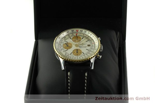 Used luxury watch Breitling Navitimer chronograph steel / gold automatic Kal. Valj.  7750 Ref. 81610  | 151667 07