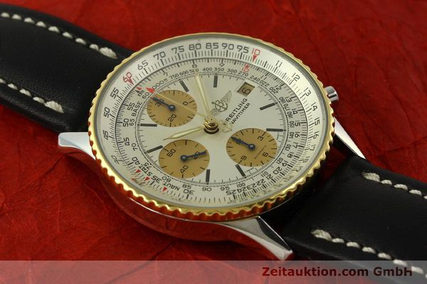 Used luxury watch Breitling Navitimer chronograph steel / gold automatic Kal. Valj.  7750 Ref. 81610  | 151667 12