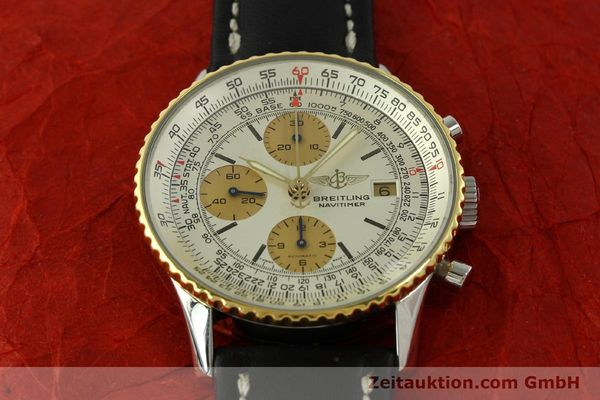 Used luxury watch Breitling Navitimer chronograph steel / gold automatic Kal. Valj.  7750 Ref. 81610  | 151667 13