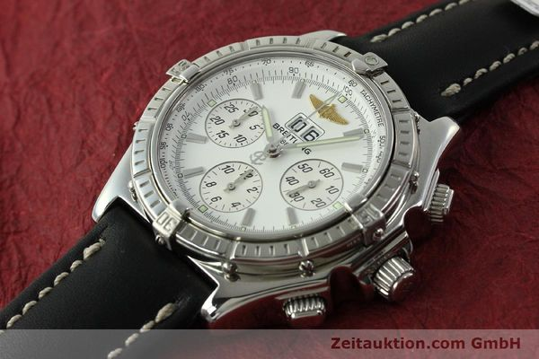 Used luxury watch Breitling Crosswind chronograph steel automatic Kal. B44 ETA 2892A2 Ref. A44355  | 151668 01