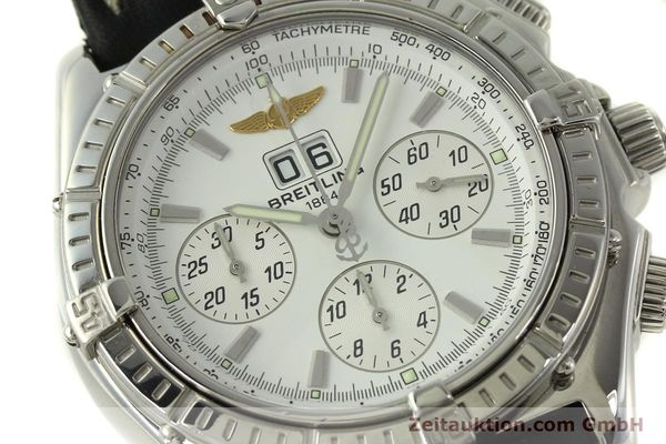 Used luxury watch Breitling Crosswind chronograph steel automatic Kal. B44 ETA 2892A2 Ref. A44355  | 151668 02