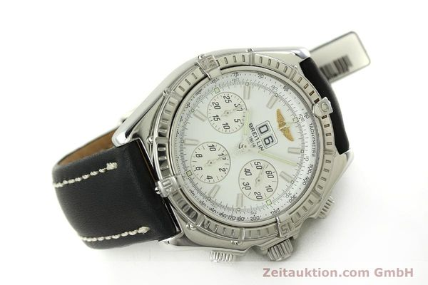 Used luxury watch Breitling Crosswind chronograph steel automatic Kal. B44 ETA 2892A2 Ref. A44355  | 151668 03