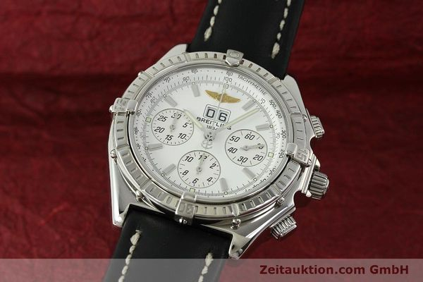 Used luxury watch Breitling Crosswind chronograph steel automatic Kal. B44 ETA 2892A2 Ref. A44355  | 151668 04