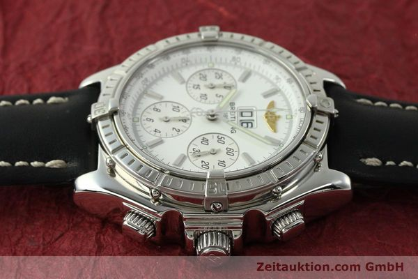 Used luxury watch Breitling Crosswind chronograph steel automatic Kal. B44 ETA 2892A2 Ref. A44355  | 151668 05
