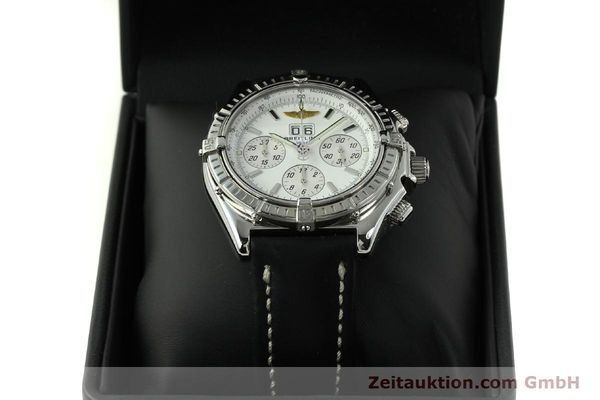 Used luxury watch Breitling Crosswind chronograph steel automatic Kal. B44 ETA 2892A2 Ref. A44355  | 151668 07