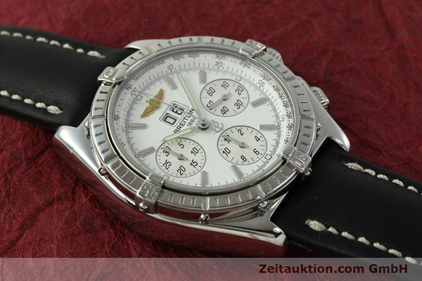 Used luxury watch Breitling Crosswind chronograph steel automatic Kal. B44 ETA 2892A2 Ref. A44355  | 151668 13