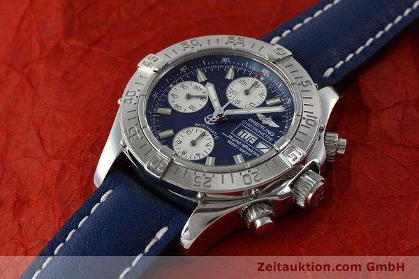 Used luxury watch Breitling Superocean chronograph steel automatic Kal. B13 ETA 7750 Ref. A13340  | 151669 01