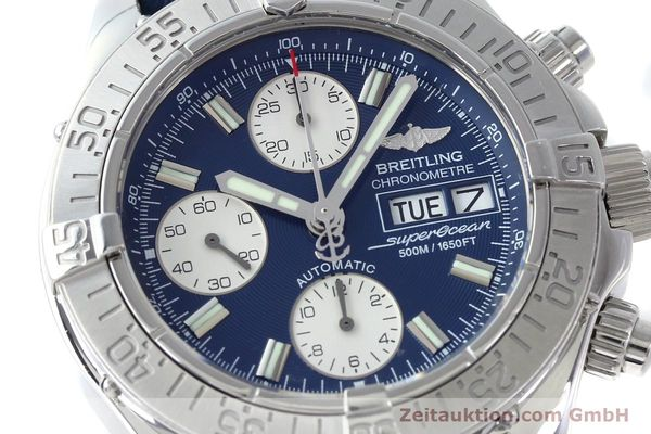 Used luxury watch Breitling Superocean chronograph steel automatic Kal. B13 ETA 7750 Ref. A13340  | 151669 02