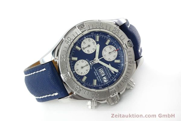 Used luxury watch Breitling Superocean chronograph steel automatic Kal. B13 ETA 7750 Ref. A13340  | 151669 03