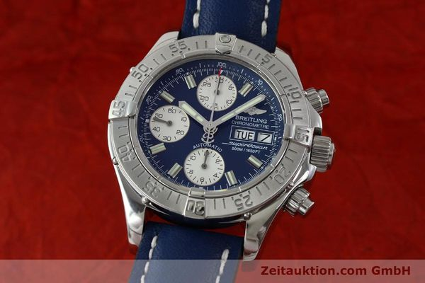 Used luxury watch Breitling Superocean chronograph steel automatic Kal. B13 ETA 7750 Ref. A13340  | 151669 04
