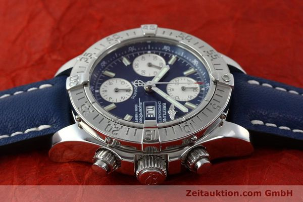 Used luxury watch Breitling Superocean chronograph steel automatic Kal. B13 ETA 7750 Ref. A13340  | 151669 05