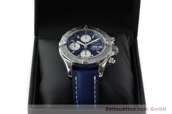 Used luxury watch Breitling Superocean chronograph steel automatic Kal. B13 ETA 7750 Ref. A13340  | 151669 07
