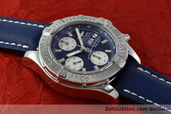Used luxury watch Breitling Superocean chronograph steel automatic Kal. B13 ETA 7750 Ref. A13340  | 151669 13