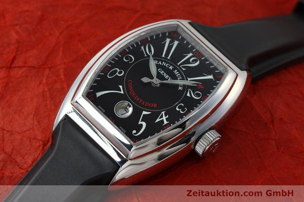 Used luxury watch Franck Muller Conquistador steel automatic Kal. ETA 2892A2 Ref. 8005SC  | 151672 01