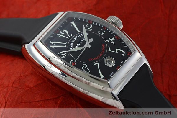 Used luxury watch Franck Muller Conquistador steel automatic Kal. ETA 2892A2 Ref. 8005SC  | 151672 14