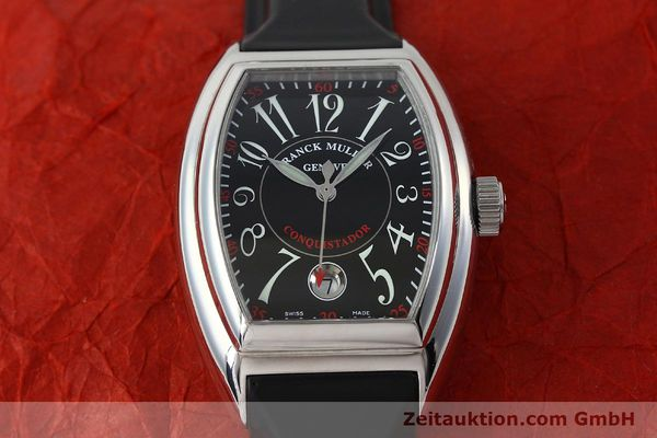 Used luxury watch Franck Muller Conquistador steel automatic Kal. ETA 2892A2 Ref. 8005SC  | 151672 15