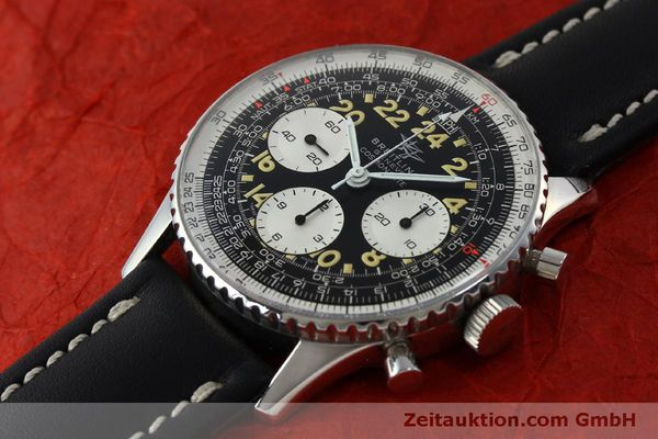 Used luxury watch Breitling Navitimer chronograph steel manual winding Kal. Venus 178 Ref. 809 VINTAGE  | 151674 01