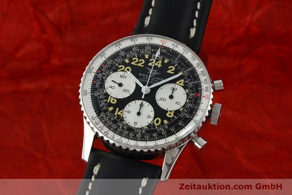 Used luxury watch Breitling Navitimer chronograph steel manual winding Kal. Venus 178 Ref. 809 VINTAGE  | 151674 04