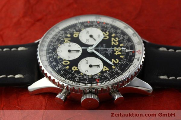 Used luxury watch Breitling Navitimer chronograph steel manual winding Kal. Venus 178 Ref. 809 VINTAGE  | 151674 05