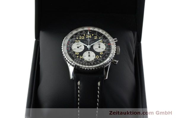 Used luxury watch Breitling Navitimer chronograph steel manual winding Kal. Venus 178 Ref. 809 VINTAGE  | 151674 07