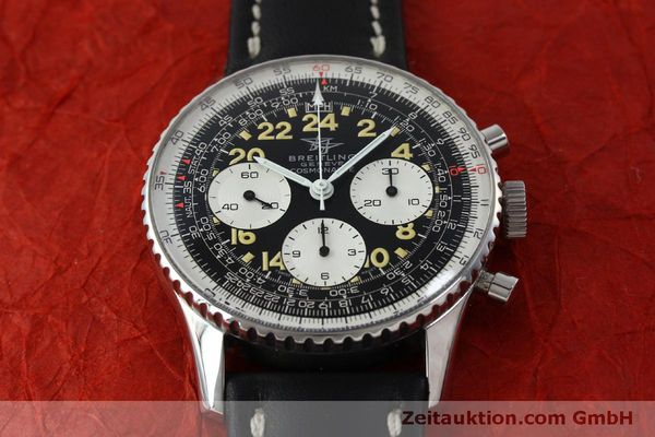 Used luxury watch Breitling Navitimer chronograph steel manual winding Kal. Venus 178 Ref. 809 VINTAGE  | 151674 14