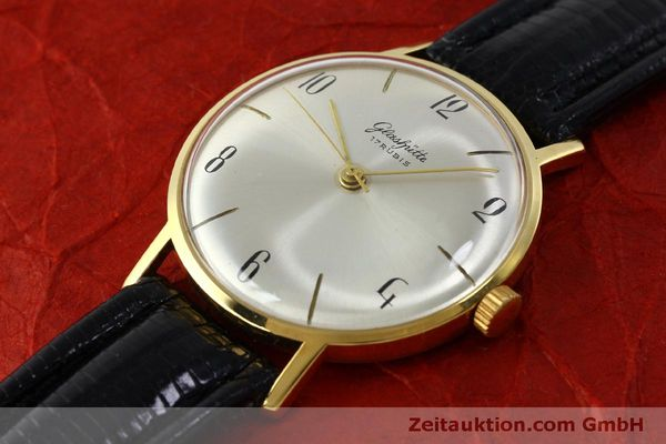 Used luxury watch Glashütte * gold-plated manual winding Kal. 70.1  | 151675 01