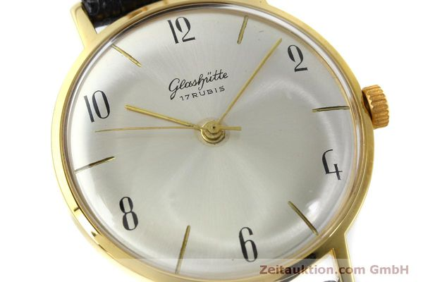 Used luxury watch Glashütte * gold-plated manual winding Kal. 70.1  | 151675 02