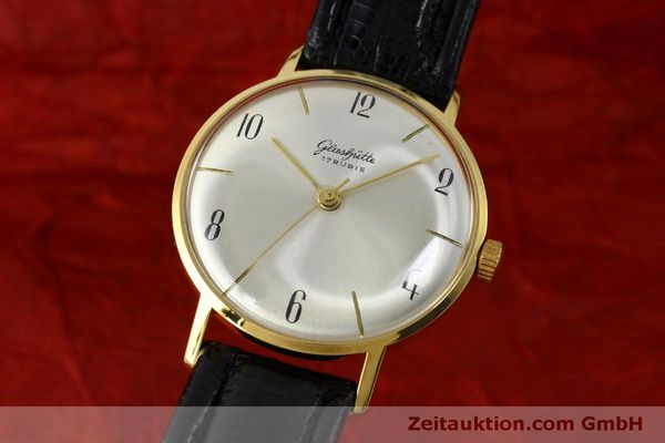 Used luxury watch Glashütte * gold-plated manual winding Kal. 70.1  | 151675 04