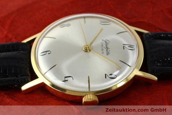 Used luxury watch Glashütte * gold-plated manual winding Kal. 70.1  | 151675 05