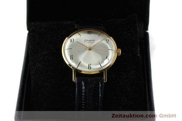 Used luxury watch Glashütte * gold-plated manual winding Kal. 70.1  | 151675 07