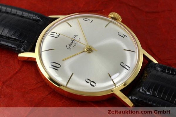 Used luxury watch Glashütte * gold-plated manual winding Kal. 70.1  | 151675 12