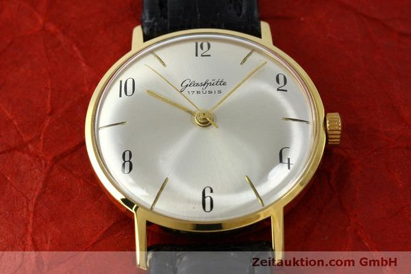 Used luxury watch Glashütte * gold-plated manual winding Kal. 70.1  | 151675 13